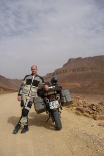 Ich im Adrar Gebirge
