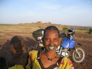 Afrika Lächeln