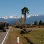 Auf dem Weg in den hohen Kaukasus