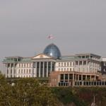 Parlament in Tiflis. Hat da nich einer geklaut?