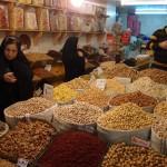 Nussladen in Tabriz