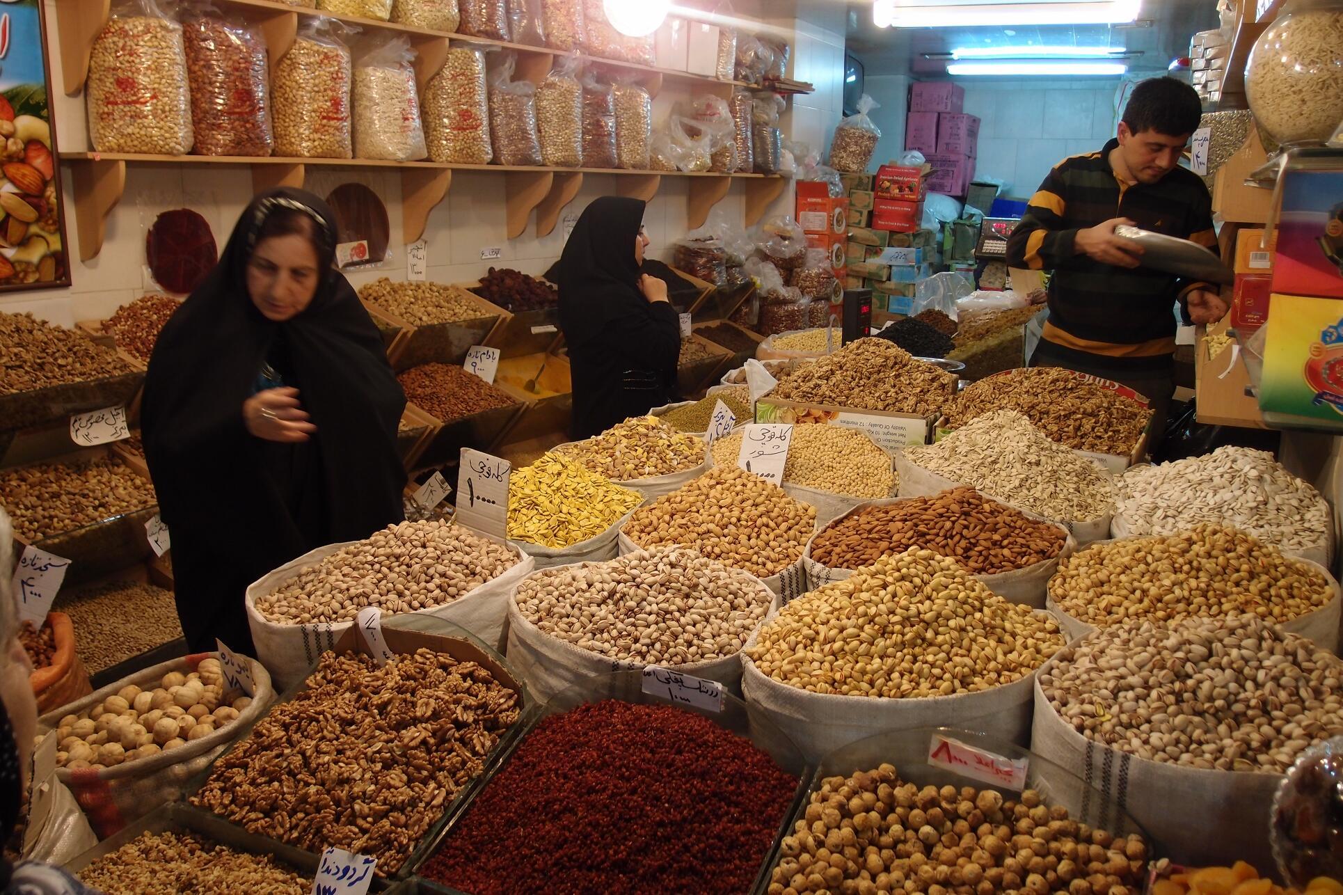 erste Schritte im Iran