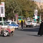Kreuzung in Zanjan