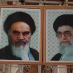 Khomeini und Khamenei, überall und immer zusammen zusehen