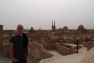 Ich in Yazd