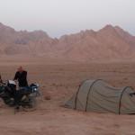 Wüstenzeltplatz