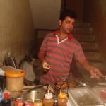 Falafelverkäufer