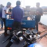 Busmotorräder auf Hormuz